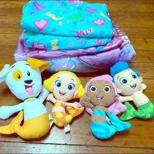 Other - Bubble Guppies Toddler Bedset